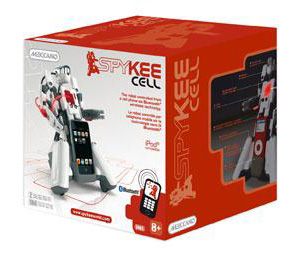 Spykee Cell Packaging