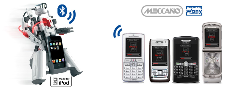 SpykeeCell is an Animated by Wany Robotics products and is compatible with Symbian S40 and S60 (Nokia, Sony Ericsson), Motorola, BlackBerry handsets